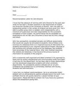 Letter Of Recommendation Research Fellowship Best Ideas Of Recommendation Letter For Research Fellowship Also Format Sle Compudocs Us