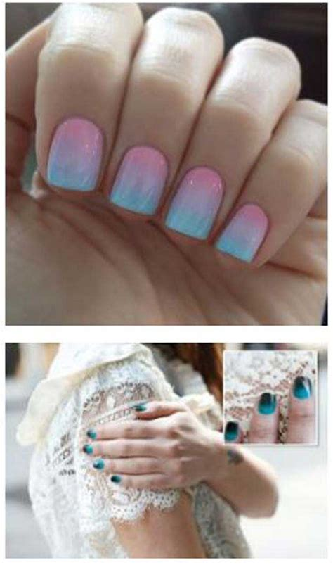 How To Do Nail by 36 Best Tutorials For Ombre Nails The Goddess