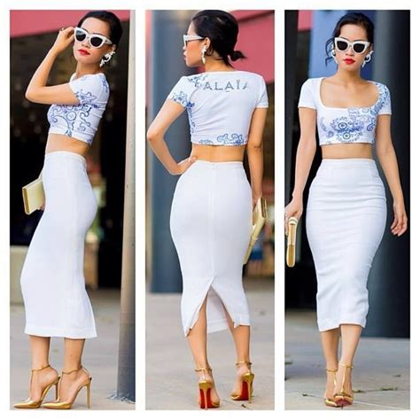 1000 images about crop tops and pencil skirts on