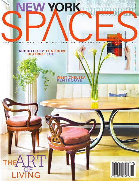 furniture magazines atelier viollet featured in new york spaces magazine