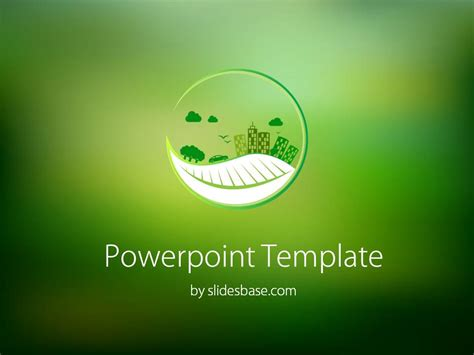 free recycle ppt template eco powerpoint template slidesbase