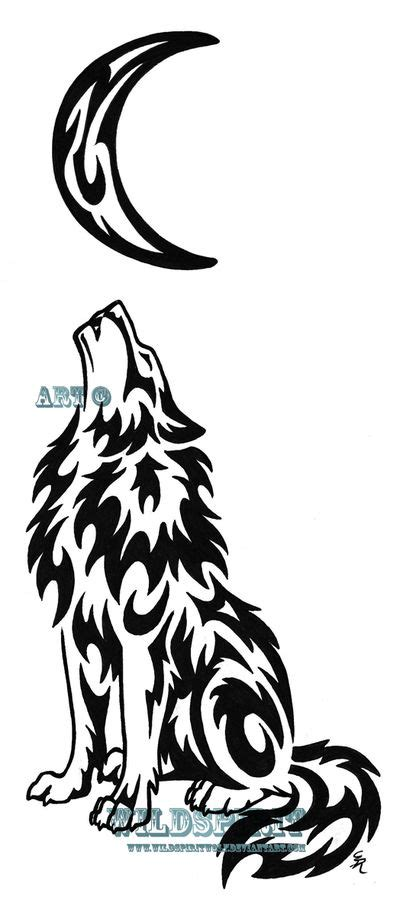 25 trending tribal wolf tattoos ideas on pinterest