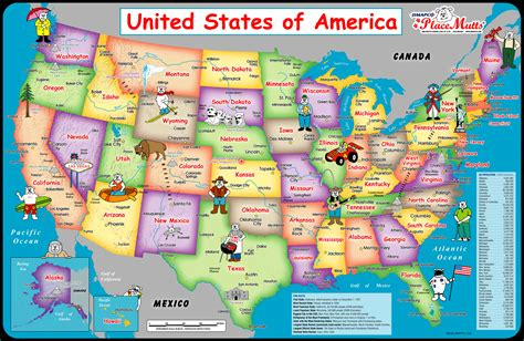 U S A usa map images