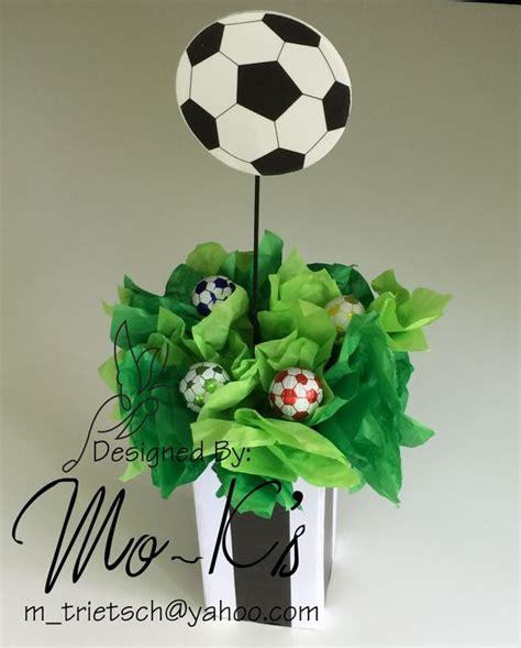 centros de mesa de futbol para clubes soccer centerpiece worldcup football birthday party