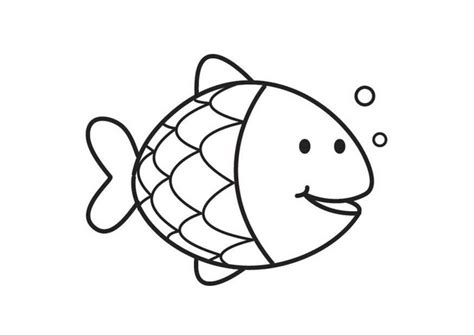 Free fish coloring pages for kids valentineblog net