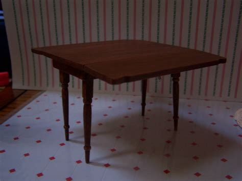 kitchen table with folding sides dean mrs claus