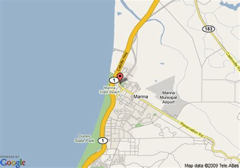 comfort inn marina ca map of comfort inn marina marina