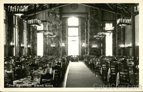 The Ahwahnee Dining Room by The Ahwahnee Dining Room California