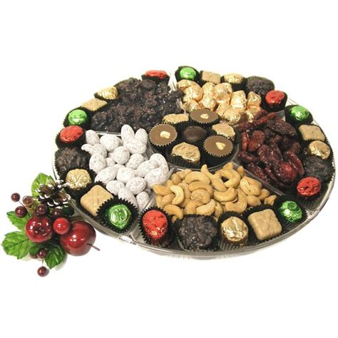 13 inch holiday lucite gift tray holiday nut gift