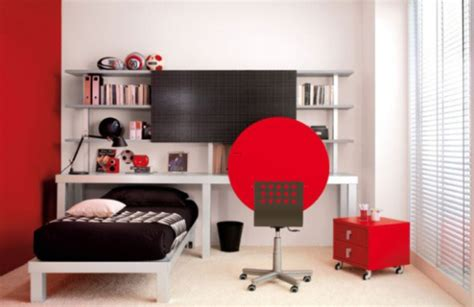 red and black teenage bedroom cool trendy teen bedroom ideas in stunning red and white colors design bookmark 6841