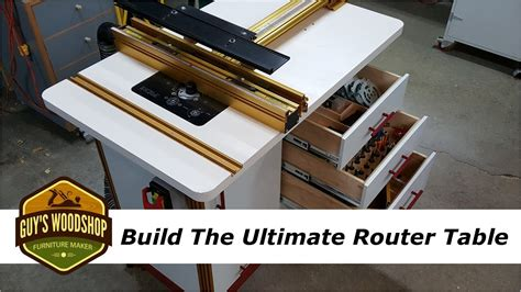 build  ultimate router table  incra pt