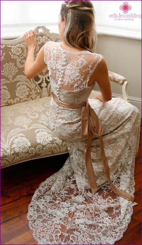 Preisg Nstige Brautkleider by Charmant Spitze Brautkleider Mit Offenem R 252 Cken Ideen