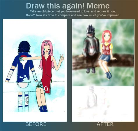 Together Alone Meme - redraw meme 1 together alone by d4rklynx on deviantart