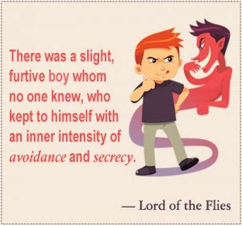 lord of the flies evil theme quotes jack lotf evil quotes quotesgram