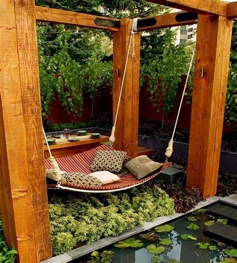 diy backyard swing 30 diy ideas how to make your backyard wonderful this summer
