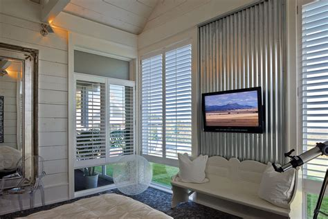 metal accent wall corrugated metal in the home