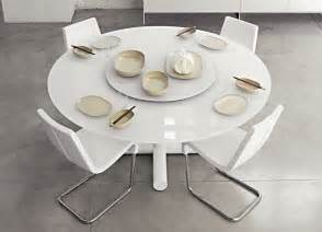 White Pedestal Table With Leaf Surfer Round Dining Table Contemporary Round Dining