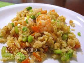 Redhead recipes fried rice