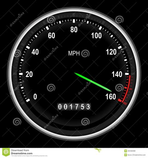 sport car speedometer royalty  stock  image