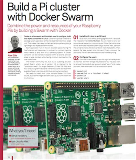 docker cluster tutorial docker article in linux magazine