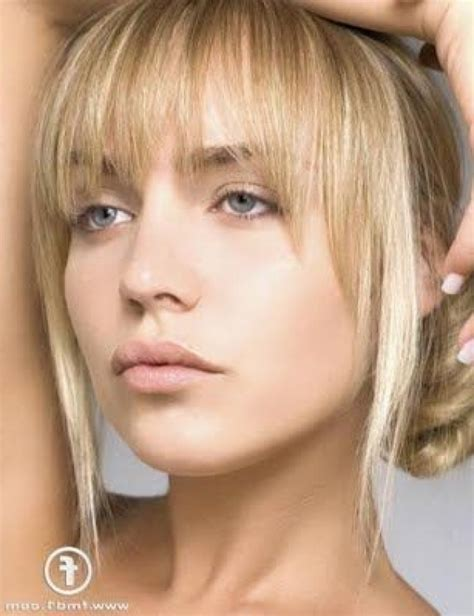 Hairstyles Bangs Pictures by Hairstyles With Wispy Bangs Pictures The Newest Hairstyles
