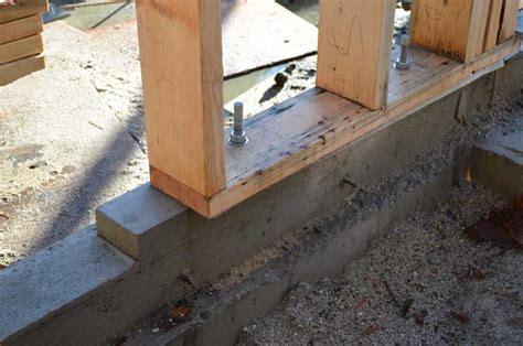 anchoring foamboard to concrete wall west wood framing 171 home building in vancouver