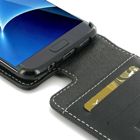 Flipcase S7edge samsung galaxy s7 edge leather flip top wallet