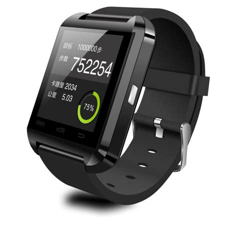 Smartwatch U U8 u8 smartwatch for ios and android black jakartanotebook