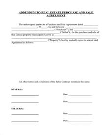 Contract Addendum Template by Addendum Contract Template Addendum To Rent Agreement