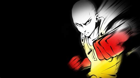punch man saitama full hd wallpaper
