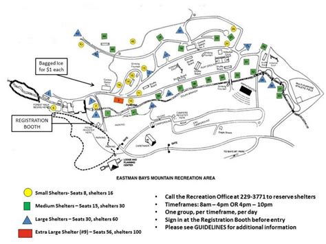Eastman Cabins Kingsport Tn tennessee eastman recreation club bays mountain picnic shelter map