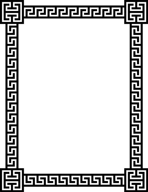 greek pattern svg greek key pattern border clip art 51