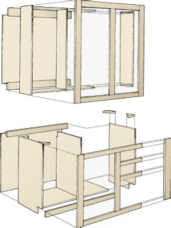 how to make your own kitchen cabinets wooden kitchen cabinets building plans diy blueprints