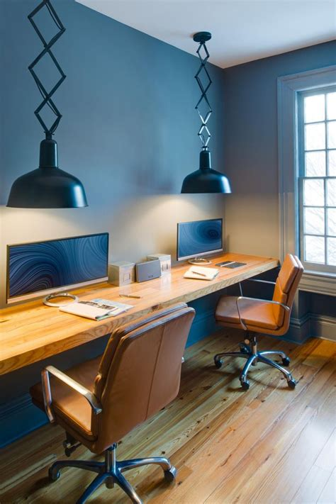 floating desk design best 20 long desk ideas on pinterest