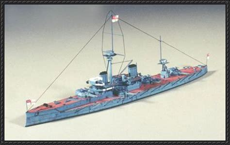 how to make a paper war boat hms dreadnought 1906 battleship free paper model
