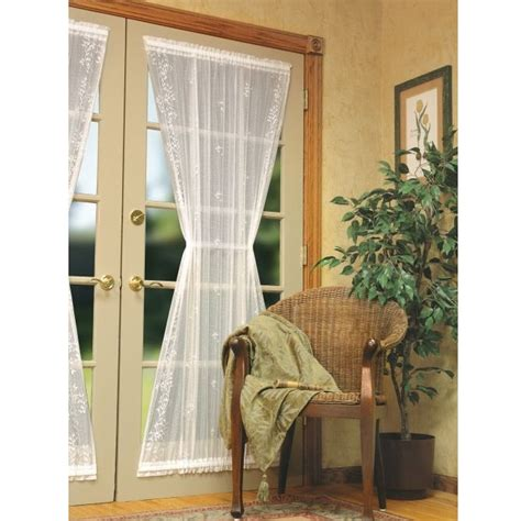 Heritage Lace Sheer Divine Lace Door Panel Curtain