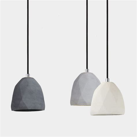 Concrete Pendant Light Concrete Pendant Light