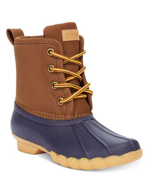 macy s duck boots hilfiger duck boots boys big boys