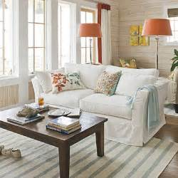 beachy home decor beach living room decorating ideas southern living