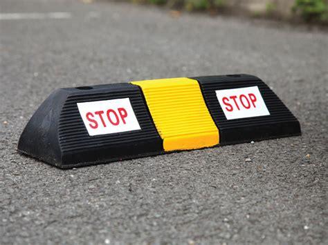 Parking Blocks For Garage by Parking Blocks Or Wheel Stops