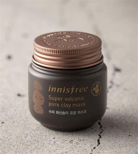 Volcanic Ash Clay Detox by Skin Care Volcanic Pore Clay Mask Innisfree