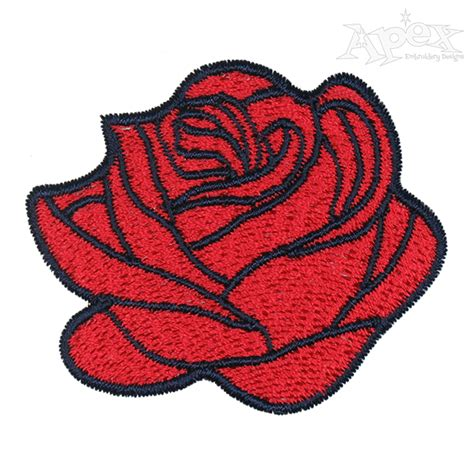 Embroidery Design Rose Flower | rose flower embroidery design
