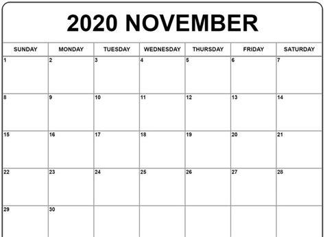 november  calendar november calendar calendar printables calendar template