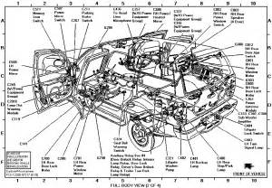Ford Explorer Parts 95 Ford Explorer Door Parts Diagram Auto Parts Diagrams