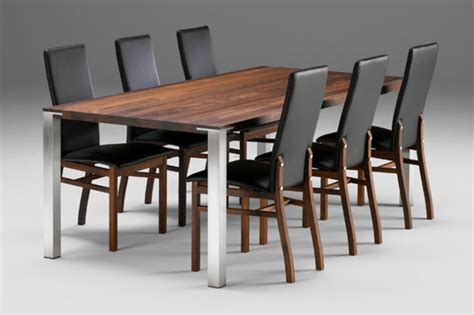 modern dining table modern oval round or rectangular dining tables design