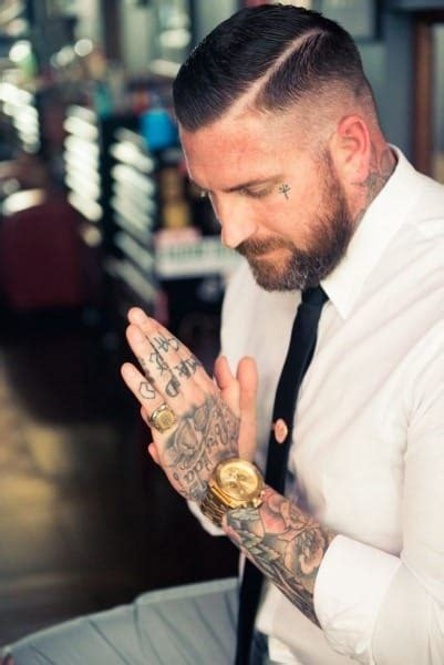 face tattoos for men tattoos for ideas and designs for guys