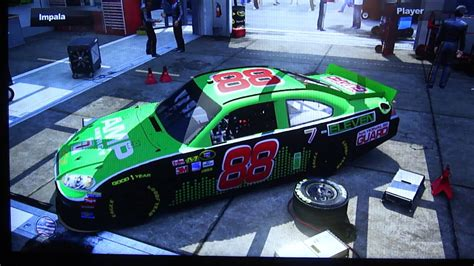 my nascar the 2011 custom cars 2012 paint schemes part 1