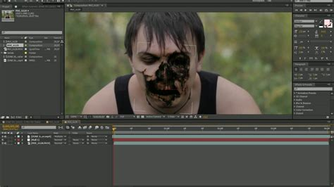 Tutorial Zombie After Effects   adobe after effects zombie tutorial youtube