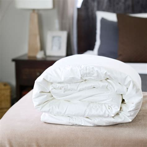Silk Filled Duvet King Size by Top Grade Strand Mulberry Silk Filled Bedding