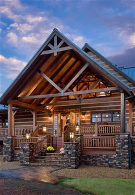 Covered Front Porch Plans by Our Timber Frame Amp Post And Beam Log Cabin Homes